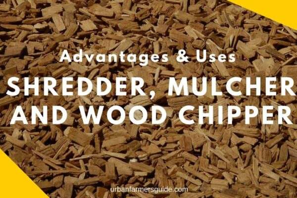 Advantages & Uses of a Shredder, Mulcher, and Wood Chipper (1)