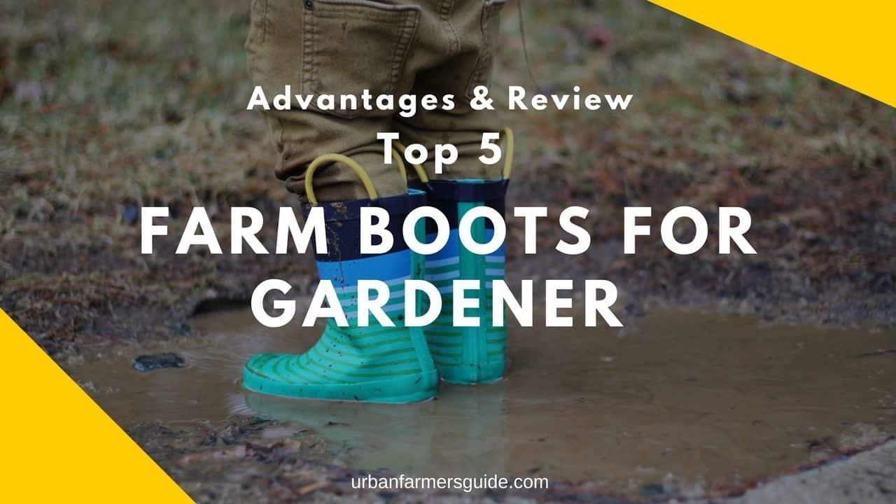Top 5 Farm Boots for Gardener Advantages & Review (1)