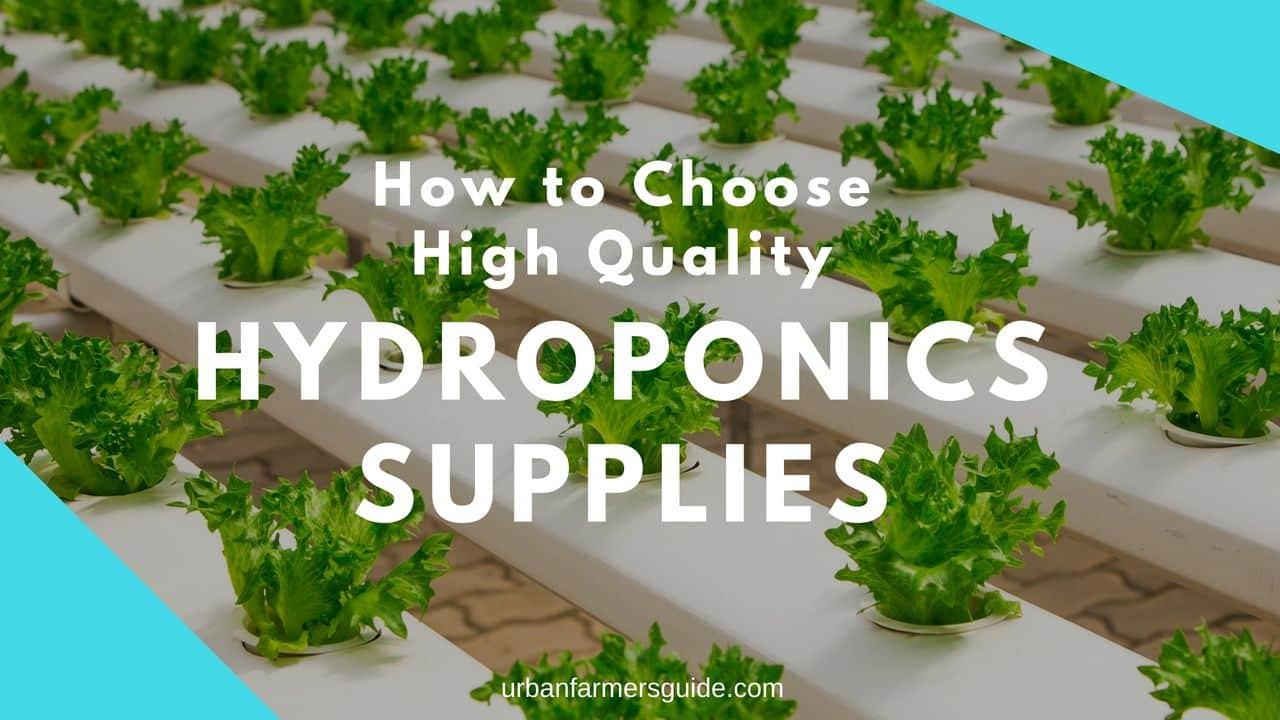 How to Choose High Quality Hydroponics Supplies